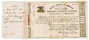 Lot 3: Stock Certificate-Robert Anderson