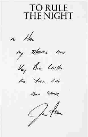 Lot 6: Astronauts Aldrin & Irwin Signed Books -2