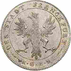 Lot 887: German States/Frankfurt 1796 Taler