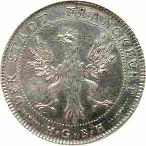 Lot 888: German States/Frankfurt 1796 Thaler