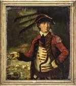 c. 1776 Benedict Arnold Portrait Transfer Print