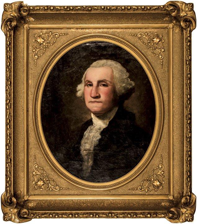 Samuel Woodson Price, George Washington Portrait
