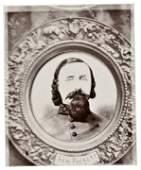 Confederate General George Pickett Locket Photo