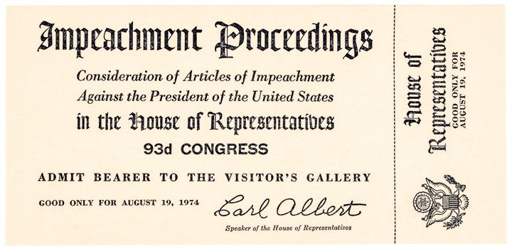 presidential impeachment trials Standards for impeachment the president, vice president and all civil officers of the united states, shall be removed from office on impeachment for, and conviction of, treason, bribery, or other .