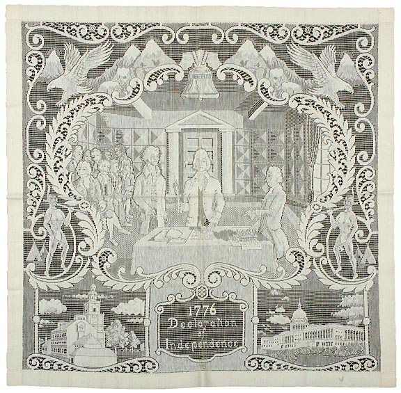 2010: DECLARATION OF INDEPENDENCE Lace Panel Depiction