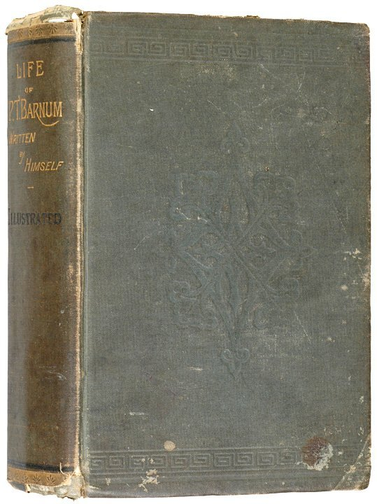 "3001: 1885 Autobiography ""LIFE OF P. T. BARNUM"""