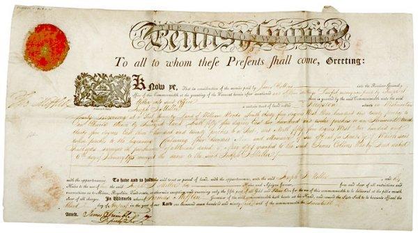 3015: THOMAS MIFFLIN Signed Document 1795