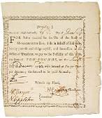 "270: Revolutionary War Soldier's 1777 ""Bounty Note"""