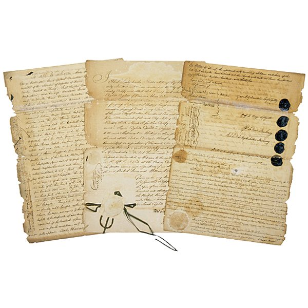 5019: (MARQUIS DE LAFAYETTE), Document Signed, 1835