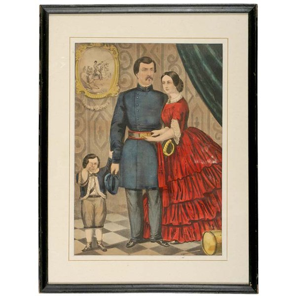 5127: c. 1860-1870, Currier + Ives Lithographs