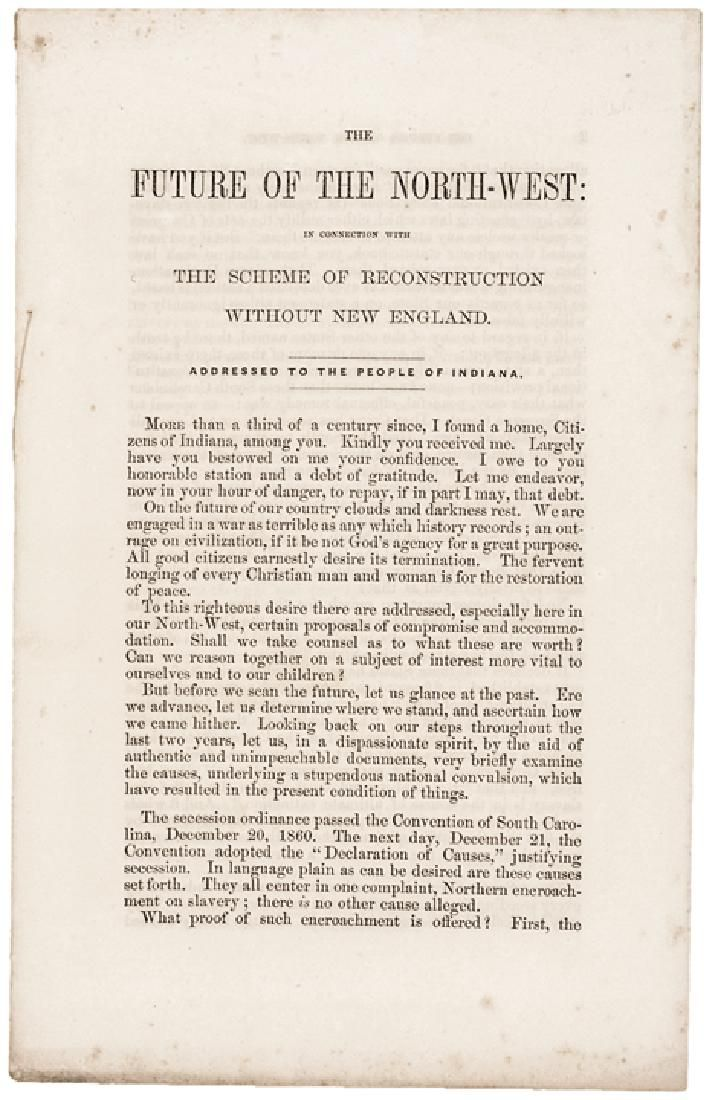 1863 Pamphlet by the Loyal Publication Society