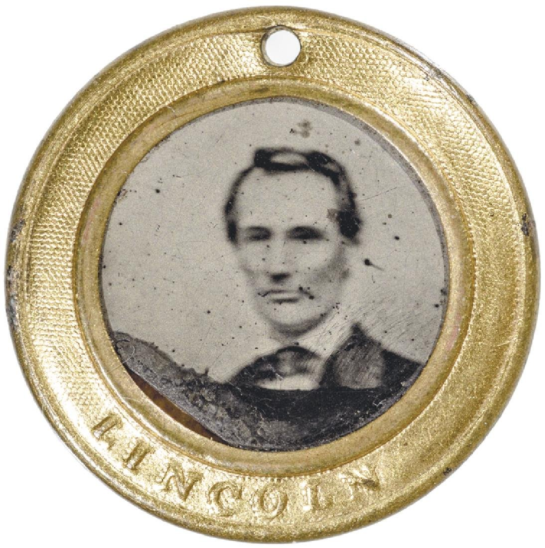 ABRAHAM LINCOLN Presidential Campaign Ferrotype