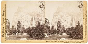 Yosemite CARLETON WATKINS Stereoview Photograph