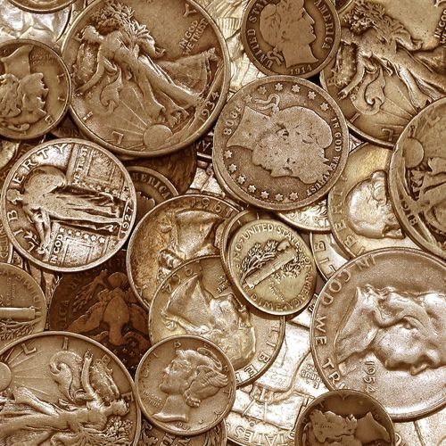 $1 Face Value Cull 90% US Silver Coins