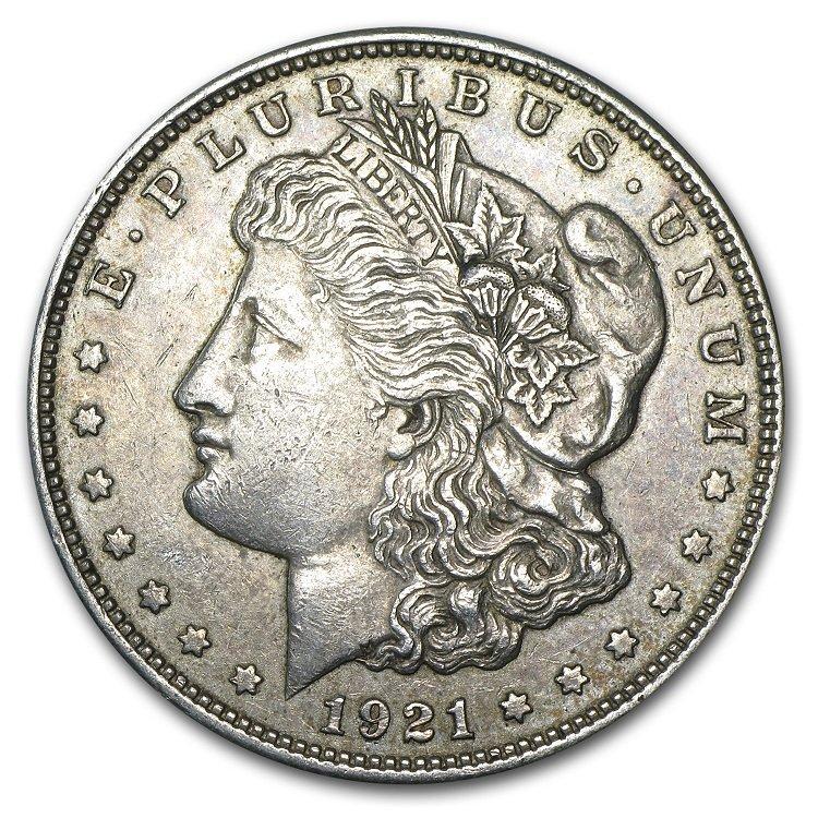 1921-P, D, or S Morgan Dollar Coin - VG - XF