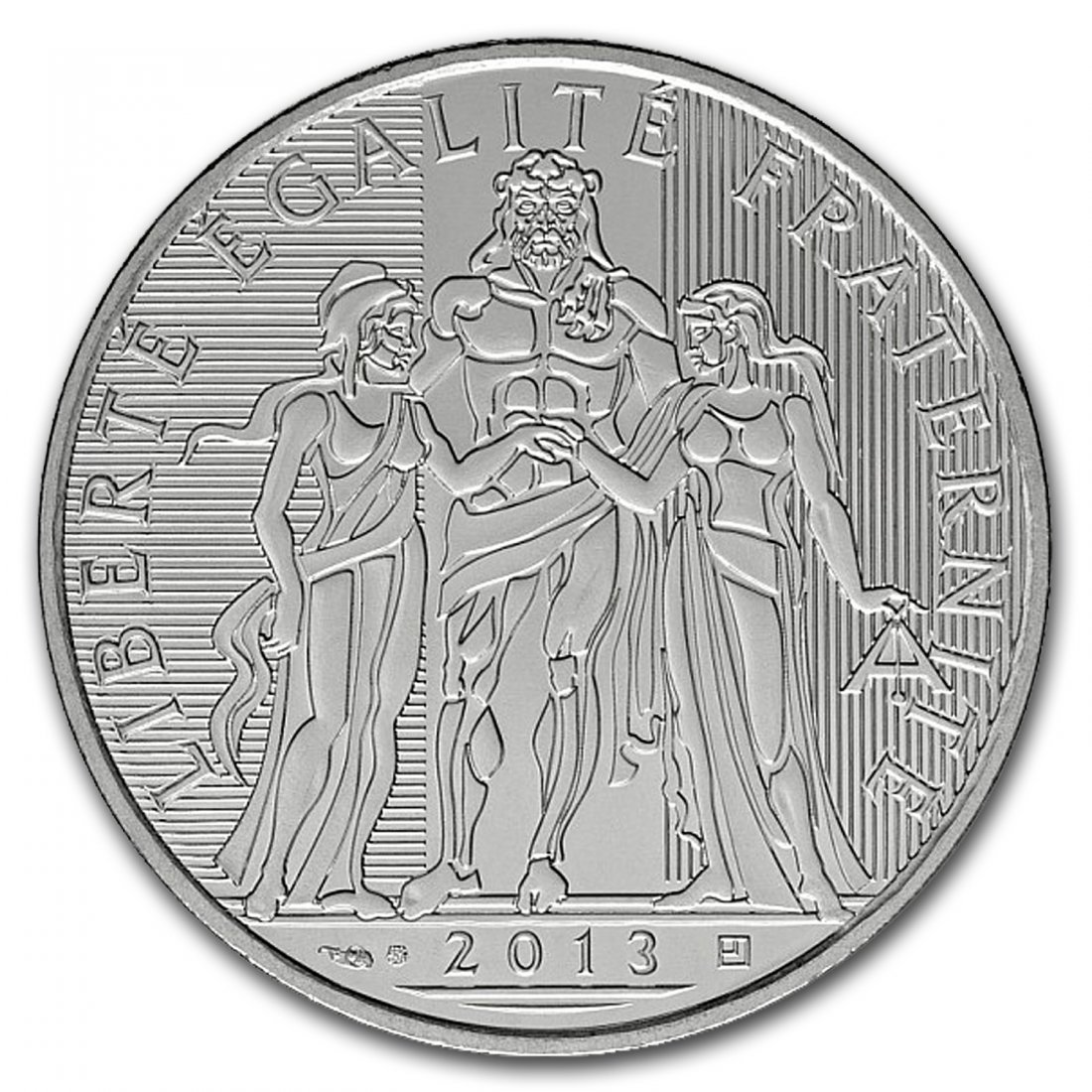 2013 10 Euro Silver Hercules (only 500,000 minted)