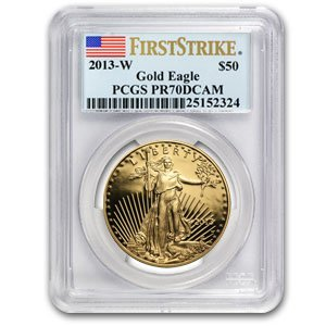 2013-W 1 oz Proof Gold American Eagle Coin - PR-70