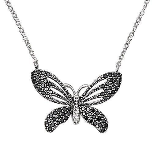 Sterling Silver Necklace - Butterfly
