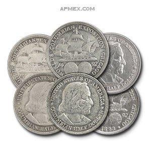 1892-1893 Columbian Exposition Silver Half-Dollar Coin