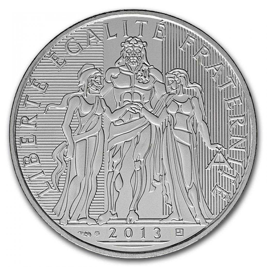 2013 10 Euro Silver Hercules Coin