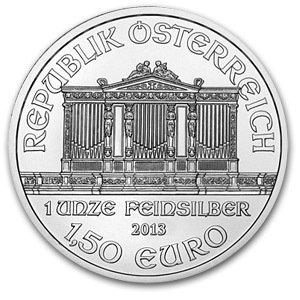 2013 1 oz Silver Austrian Philharmonic Coin