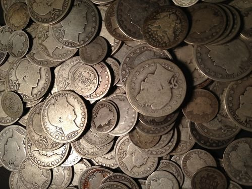 $1 Face Value 90% US Silver Coins