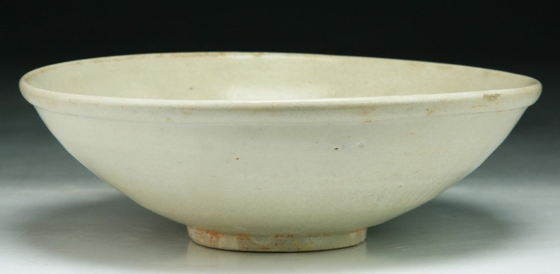 A Chinese Antique White Glazed Porcelain Bowl