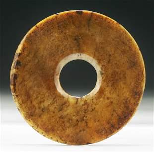 A Chinese Archaic Jade Bi
