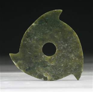 A Chinese Archaic Jade/Stone Carving