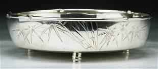 Fine 19th C. Antique Pure Silver Bowl