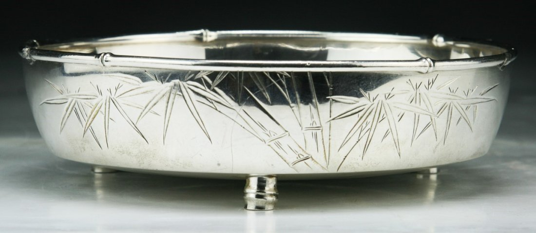 Fine 19th C. Antique Pure Silver Bowl