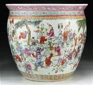 Large C. 1900 Chinese Antique Famille Rose Porcelain