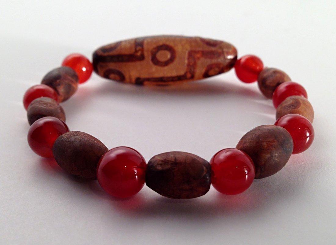 Tibetan DZI bracelet