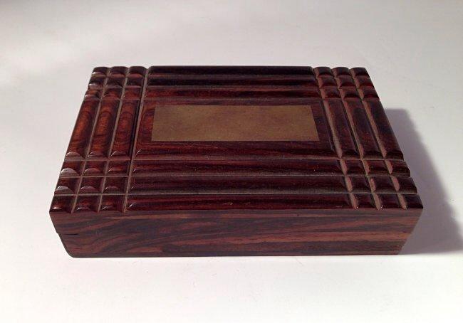 Carved Huang Hua Li Box