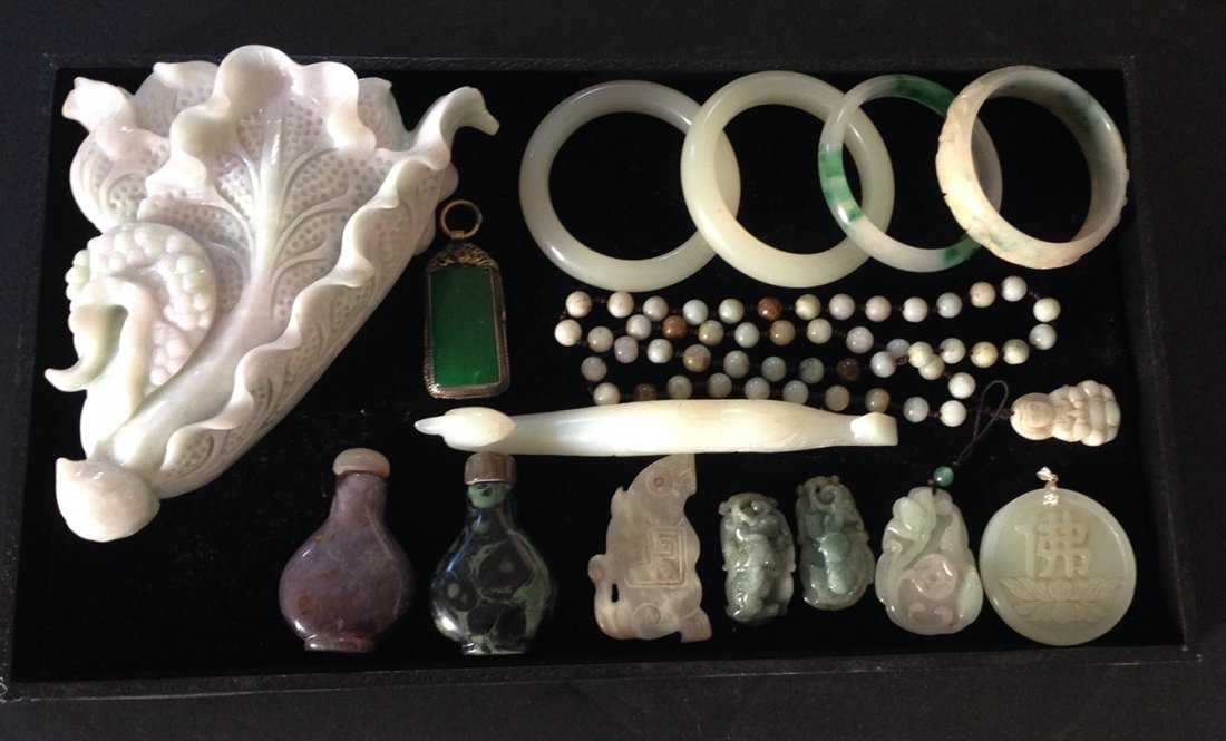 GROUP OF JADE COLLECTION