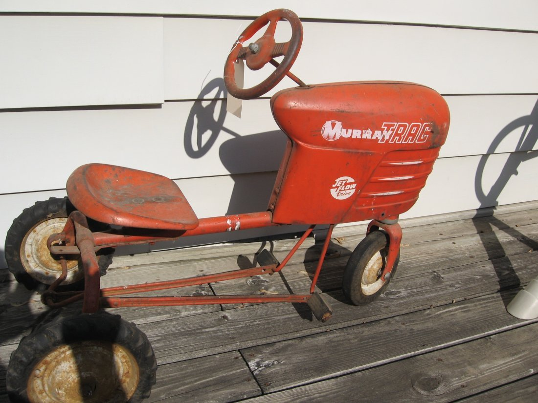 MURRAYTRAC JETFLOW DRIVE PEDAL TRACTOR