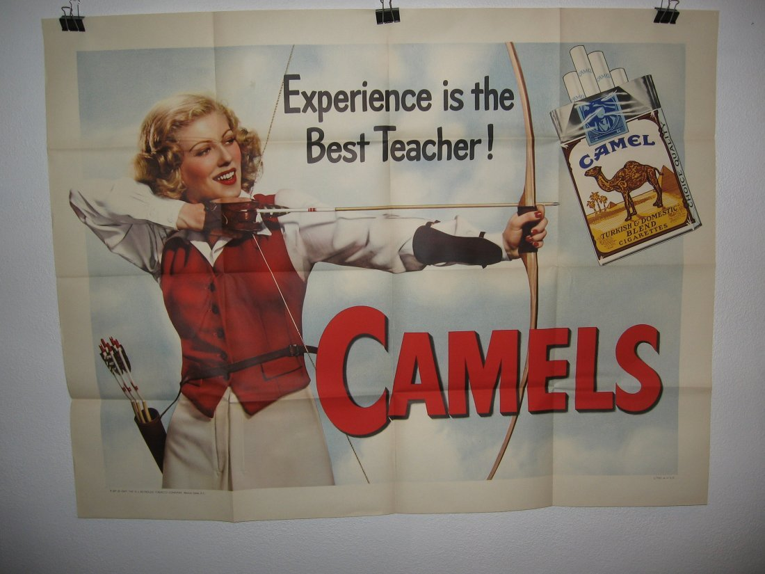 CAMEL TRUCK POSTER (1947)