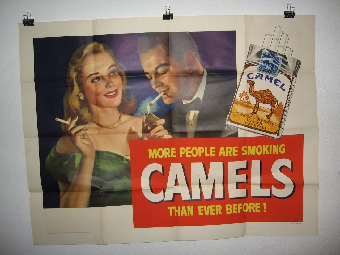 CAMEL TRUCK POSTER (1948)
