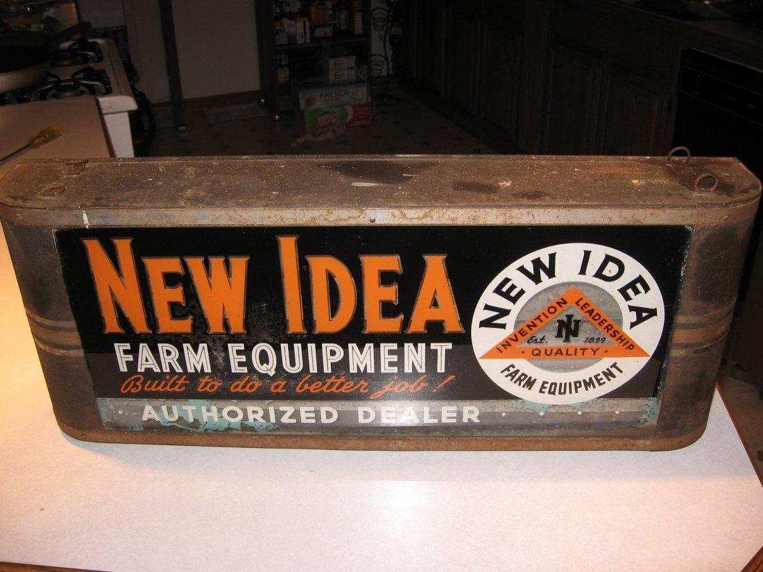 NEW IDEA LIGHTED SIGN