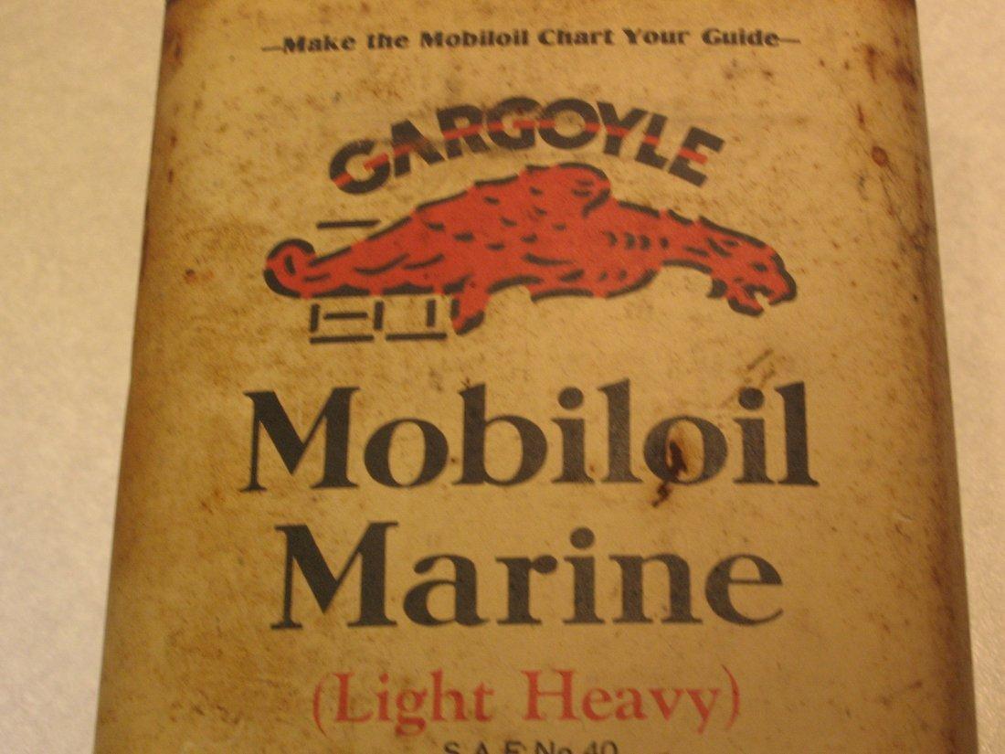 MOBIL GARGOYLE OIL CAN