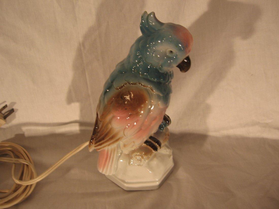 Rosenthal-Werke porcelain Cockatiel Perfume Lamp