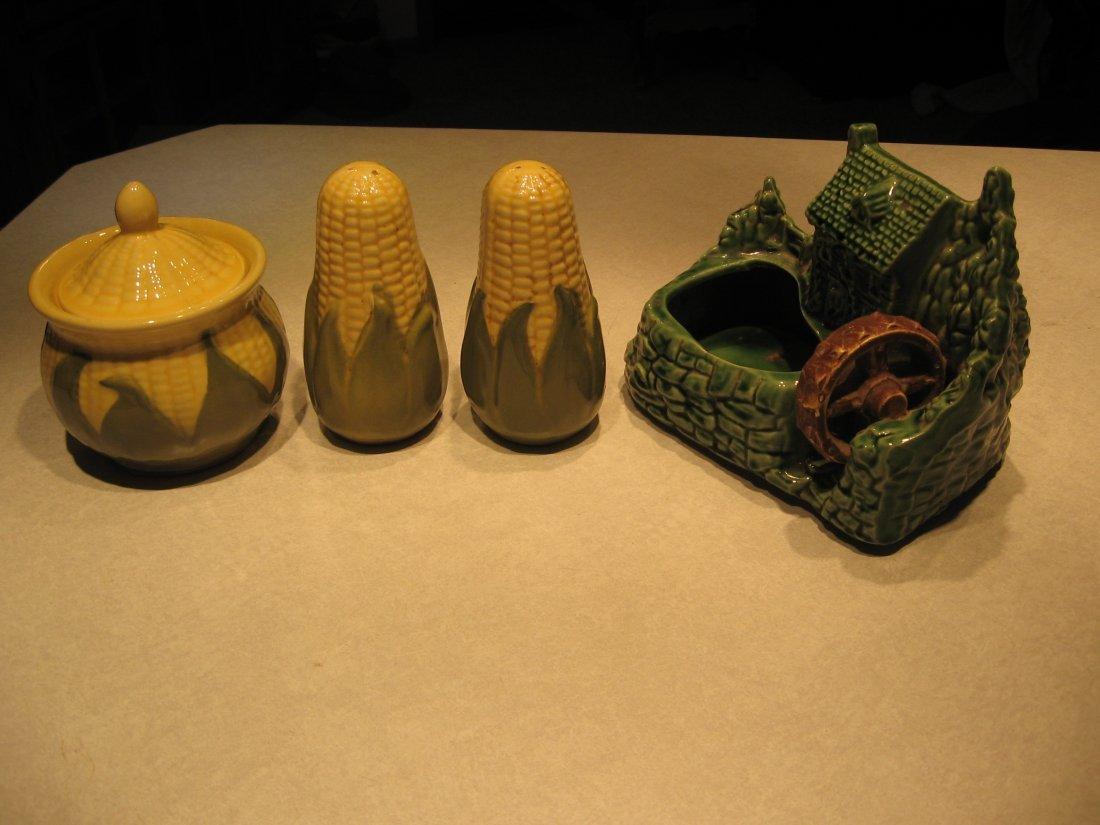 SHAWNEE COLLECTION - Sugar Bowl, Salt & Pepper Shakers,