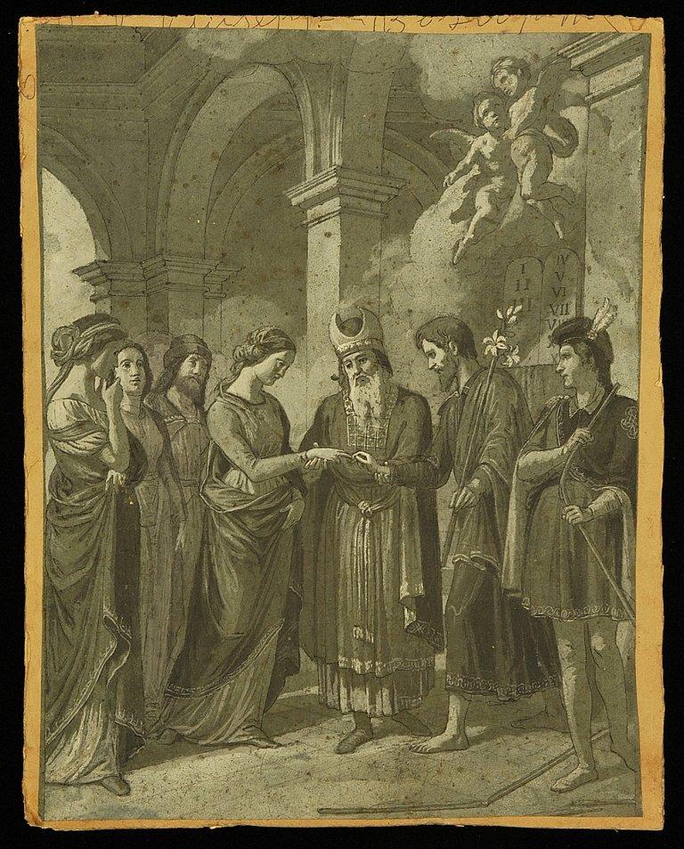 GIUSEPPE BEZZUOLI (1784-1855). BOTTEGA DI