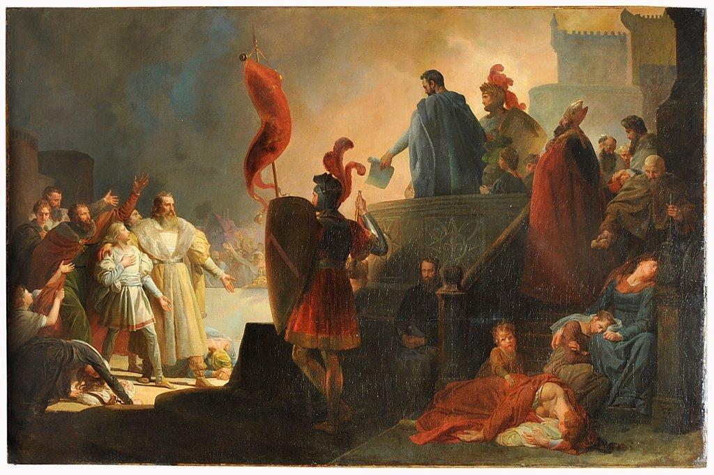 THOMAS COUTURE (1815-1879). CERCHIA DI