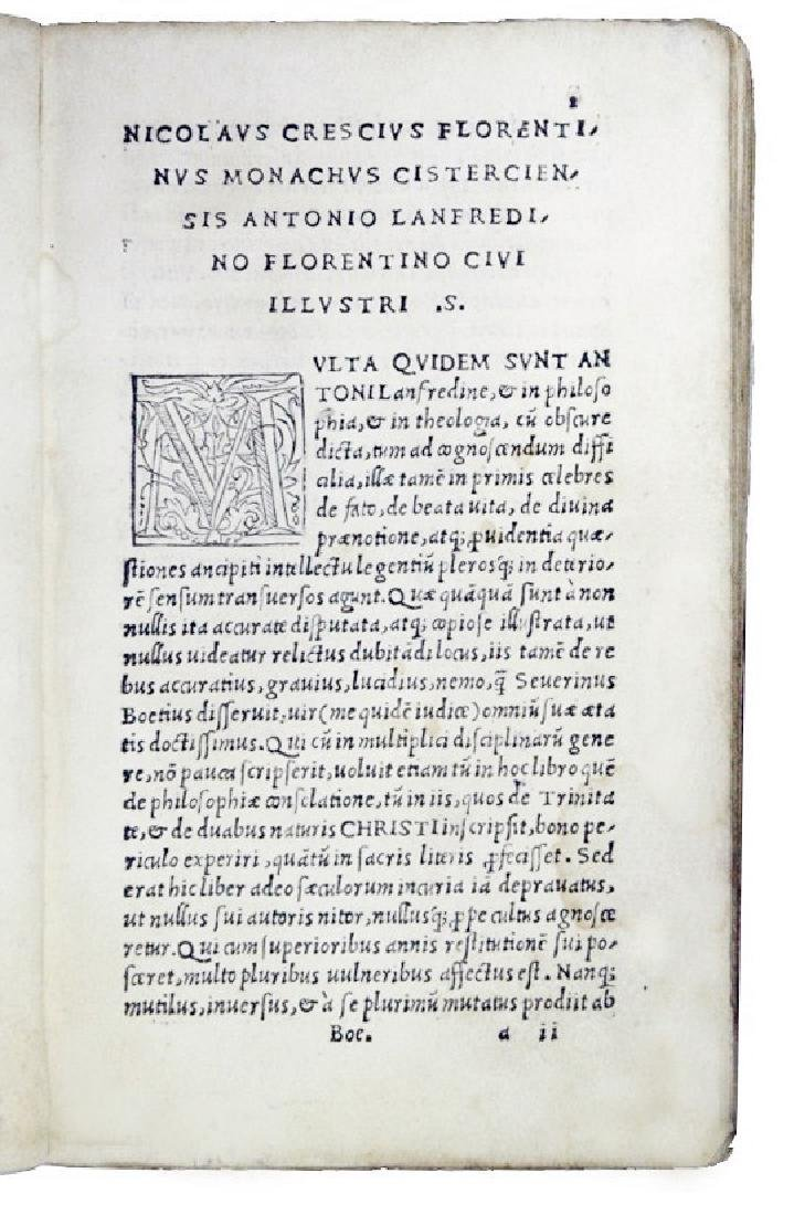 [Philosophy, Middle Ages] Boethius, 1513 - 2