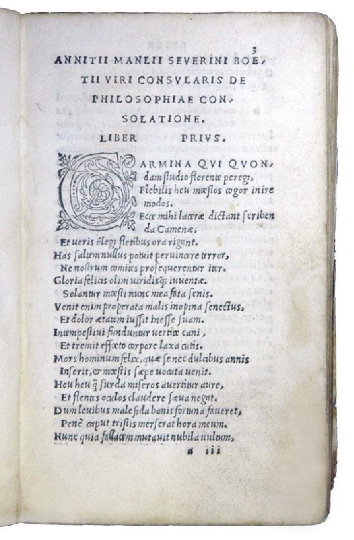 [Philosophy, Middle Ages] Boethius, 1513 - 3