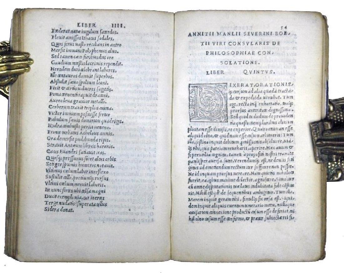 [Philosophy, Middle Ages] Boethius, 1513 - 6