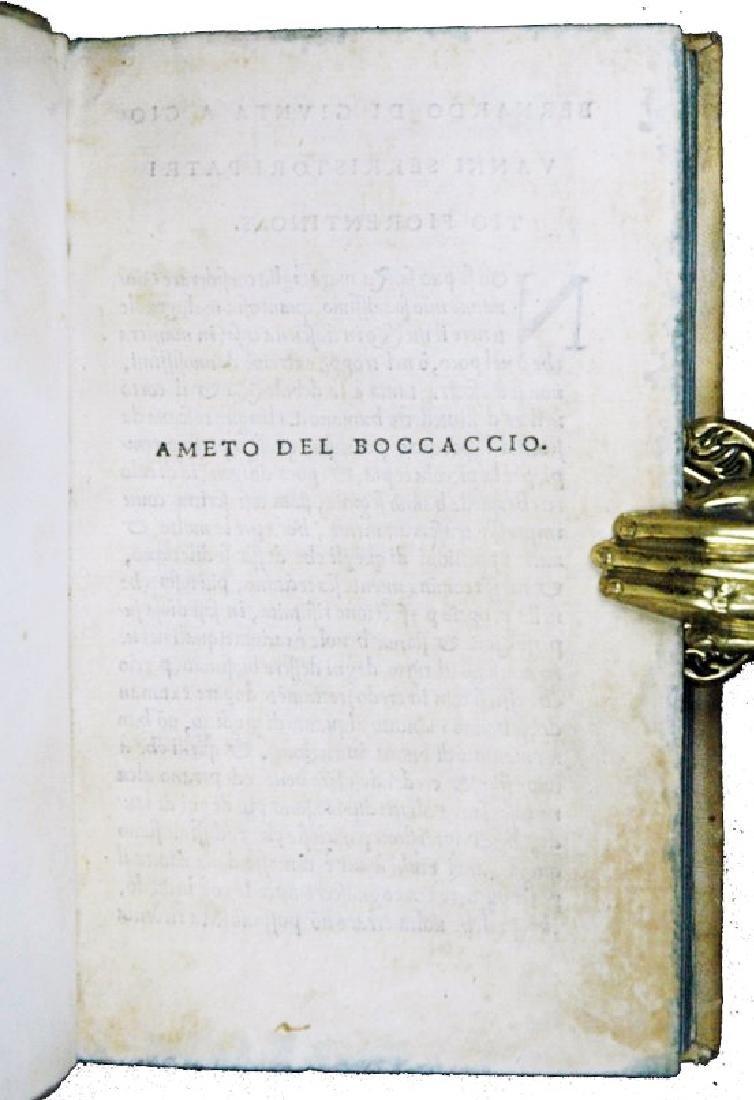 [Florence, Love Novel] Boccaccio, Ameto, 1529 - 2