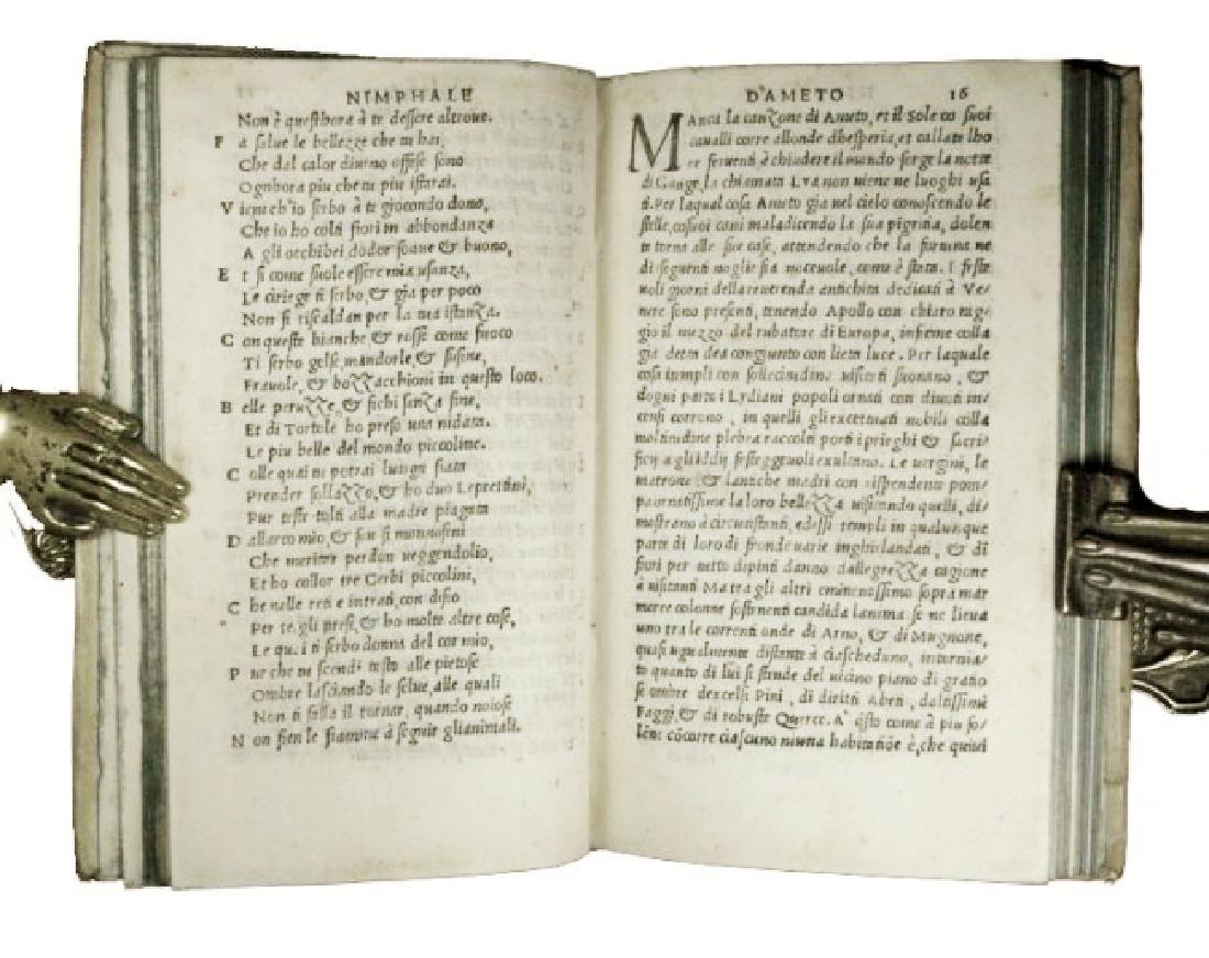 [Florence, Love Novel] Boccaccio, Ameto, 1529 - 3