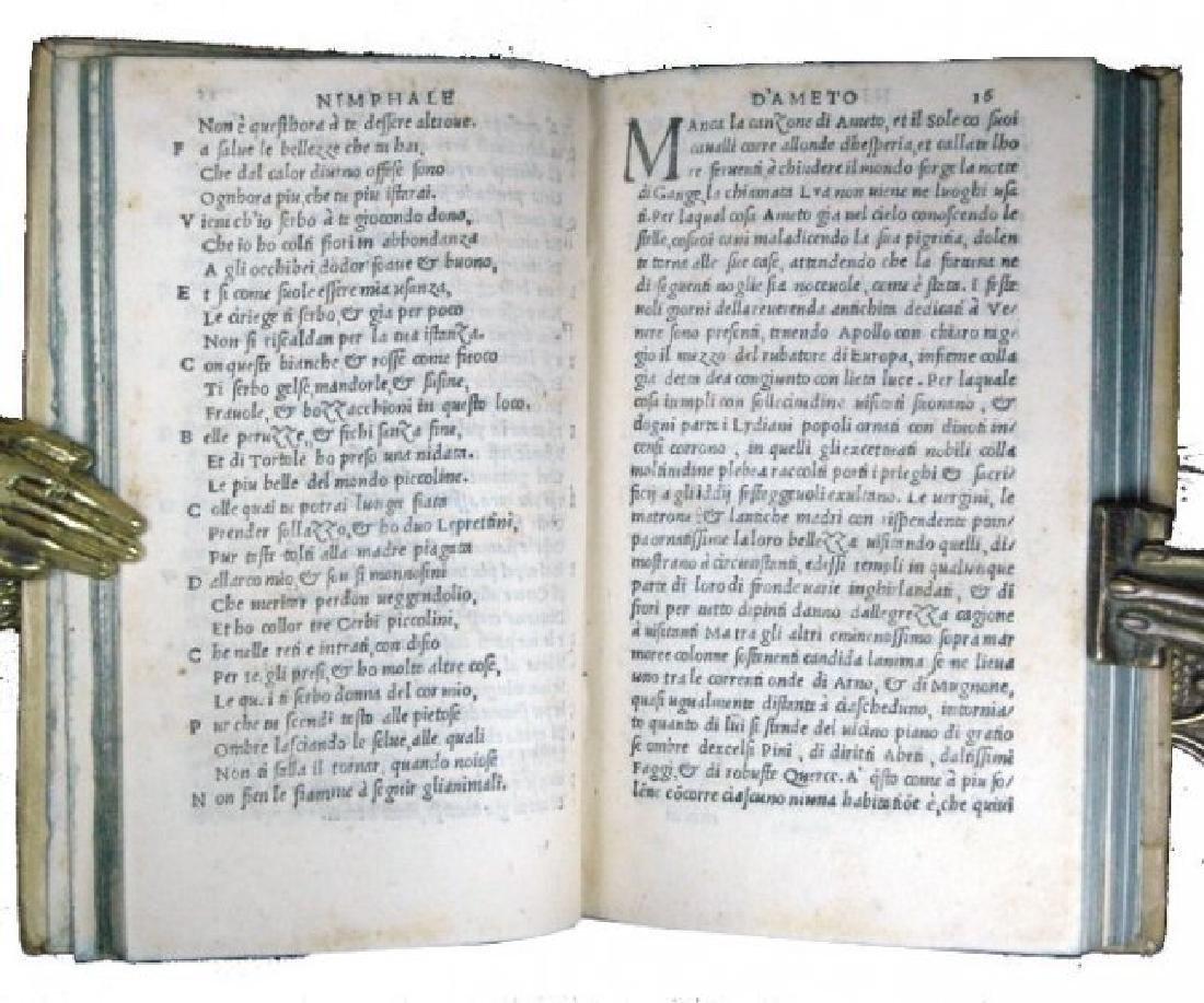 [Florence, Love Novel] Boccaccio, Ameto, 1529 - 5